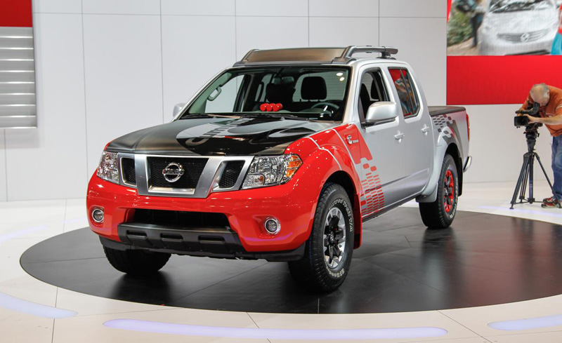 nissan frontier diesel runner concept 2 8l cummins. Black Bedroom Furniture Sets. Home Design Ideas